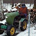 ursus c308 sam #CiągniczekOgrodniczy #CiągniczekLeśny #CiągniczekSadowniczy #traktor #sam #samoróbka #UrsusC308 #MałyCiągniczek #traktorek #dzik21