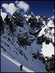 Z nartami na Niżnie Rysy