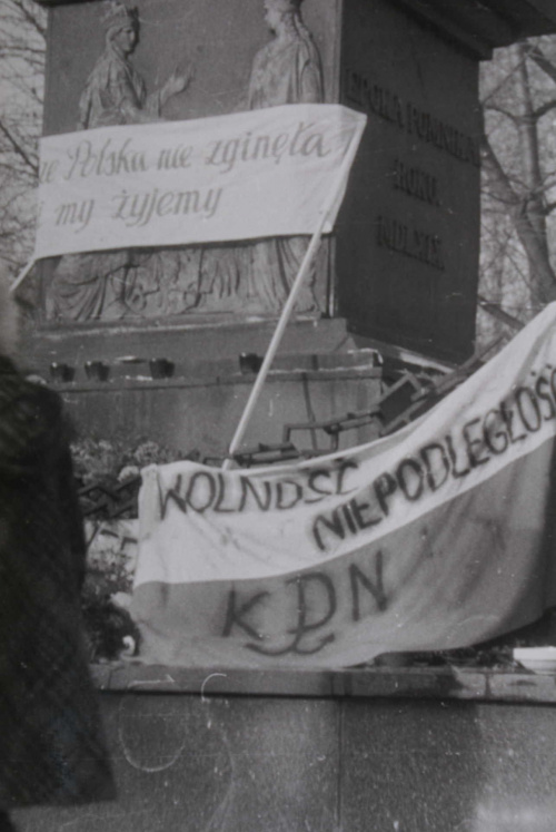 Nazajutrz po manifestacjin KPN, Lublin, Święto Niepodległości