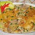 Schabowe z boczniakiem Przepisy do zdjęć zawartych w albumie można odszukać na forum GarKulinar . Tu jest link http://garkulinar.jun.pl/index.php Zapraszam. #kotlety #schab #mięso #schabowe #grzyby #boczniak #kulinaria #gotowanie
