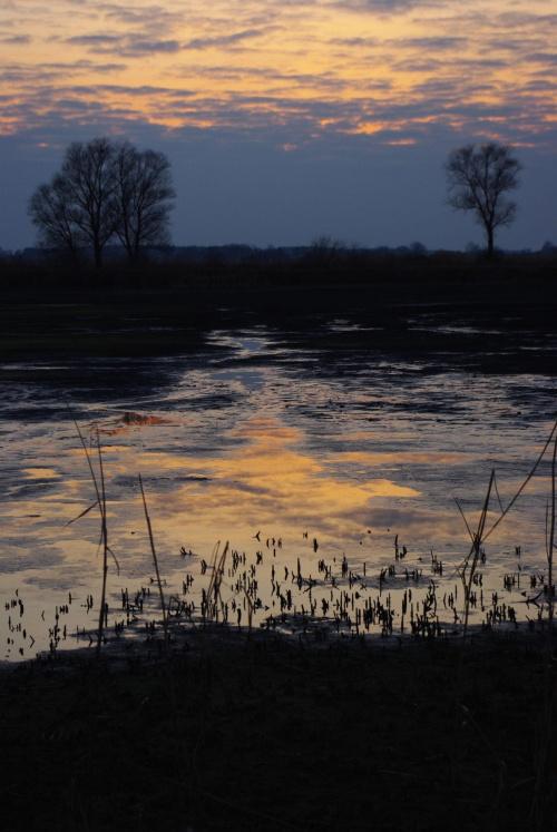 #zachód #jezioro #słońce #ZachódSłońca #rzeka #natura #krajobraz #przyroda #widok