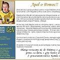 http://pomagamy.dbv.pl/ #Apel #AstmaOskrzelowa #ChoreDzieci #CukrzycaTypu2 #darowizna #Fiedziuszko #fundacja #hiperurykemia #KamilIMagdaMróz #KamilMróz #MagdaMróz #NadciśnienieTętniczeWHO #NiedobórŻelaza #OlbrzymiaOtyłość #osteoporoza #SOS