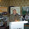 Na zakończenie konferencji głos zabrali:: gen dyw Paweł Lamla #Militaria #Konferencja #Osoby