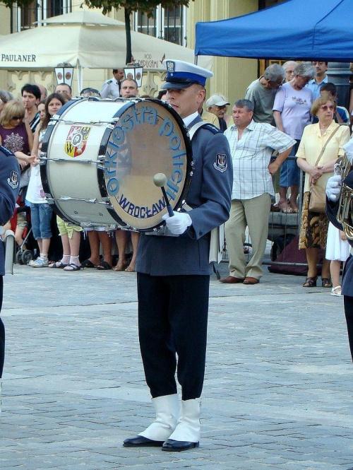 bum bum #festiwal #orkiestra #policja #wrocław