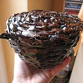 Koszyk - idealny na prezent #rękodzieło #koszyk #prezent #wiklina