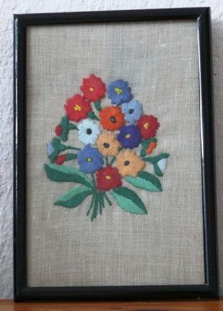 #kwiaty #HaftPłaski #obraz #obrazek #rękodzieło #RobótkiRęczne