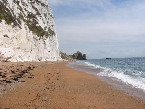 Plaża, dzika plaża. #Anglia #klif #BiałeSkały #Dorset #widok #morze #plaża