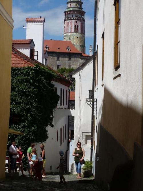 Czeski Krumlow - uliczki
