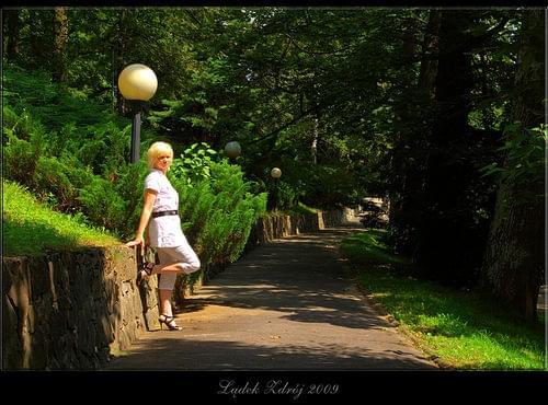 w parkowej alei #Lądek #Zdrój #LądekZdrój #park #ParkZdrojowy