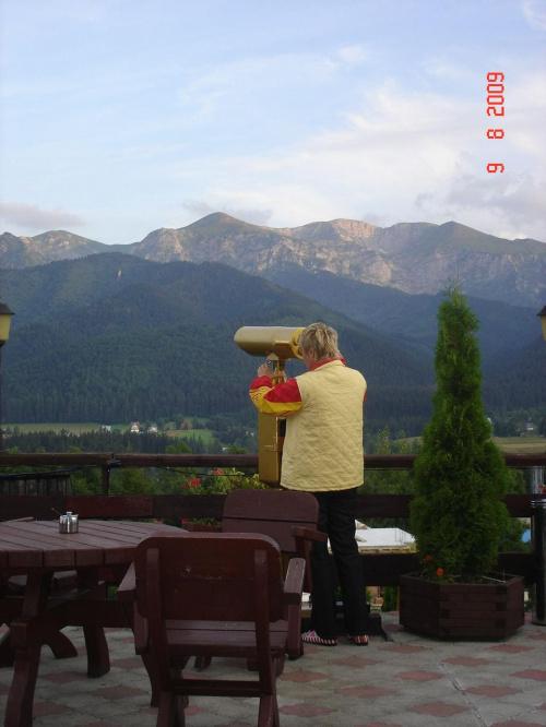 Zapraszam do oglądania panoramy Tatr ;)