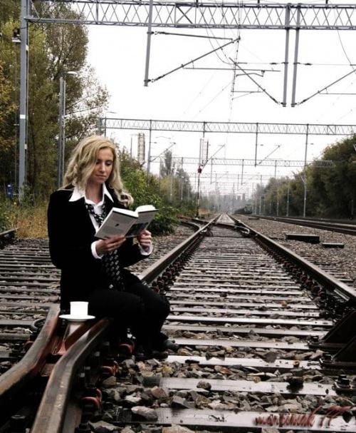 Czytelnia... kolejowa :-)