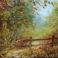 #garncarek #aleksander #obraz #malarstwo #obrazy #olej #płótno #pejzaż #impresja #kwasków