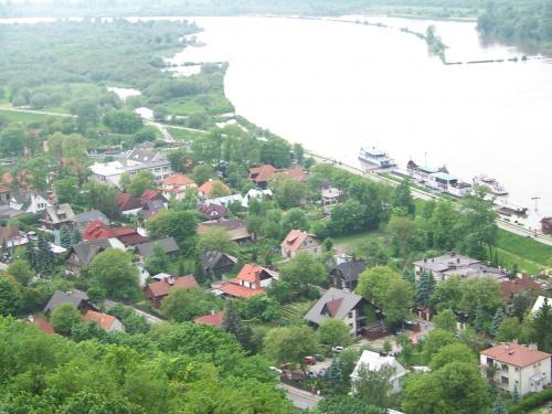 Widoczek #KazimierzDolny #rzeka #baszta