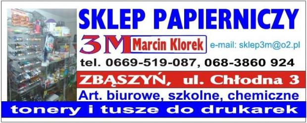 #MarcinKlorek #Zbąszyń #SklepPapierniczy #ToneryDoDrukarek #TuszeDoDrukarek #ArtykułyBiurowe #chemiczne #szkolne