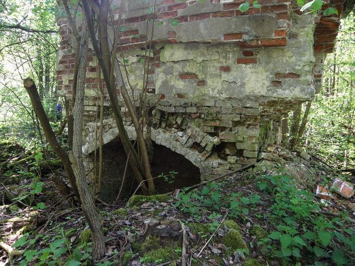 Ruiny młyna papierniczego w Rosiejewie- Papier und Zelullosenfabrik  Pulverkrug 146c047b09a7423d