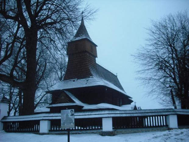 Kościół św.Marcina wZawadzie k/Tarnowa. #DrewnianyKościółek
