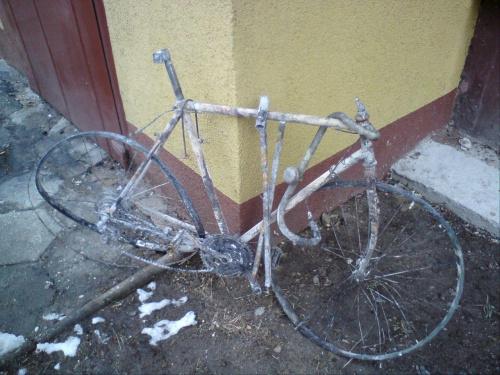 Ja juz tym rowerem nigdzie nie pojadę ;-) #PoPożarze
