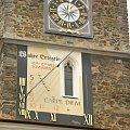 Ratusz w niemieckim Lobau,zegar z życiowym przesłaniem ;) #Niemcy #Lobau #ratusz #zabytek #zegar