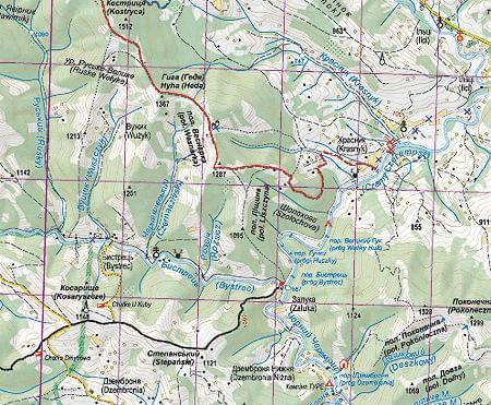 Nowa Mapa Czarnohora i Świdowiec