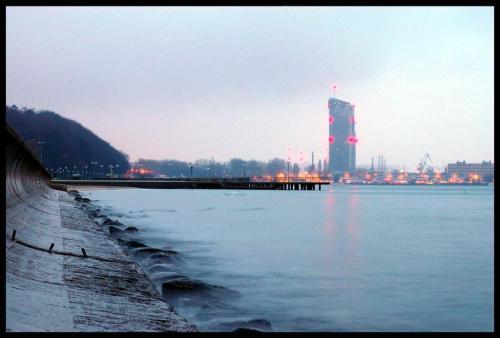 Gdynia o poranku. #Gdynia #morze #bulwar