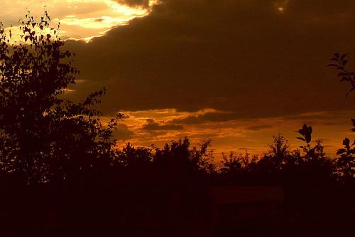 pozdrawiam serdecznie:) #chmury #slonce #zachody