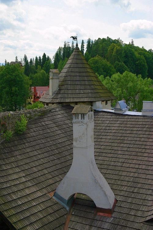 Zamek w Niedzicy. Komin mnie zauroczył:-) #zamek #Niedzica
