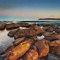 bezchmurny zachod #ZachodSlonca #przyroda #woda #Sydney