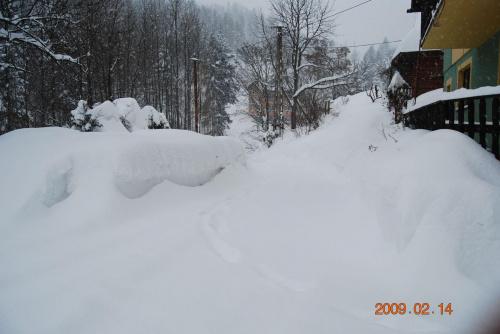 Ale nasypalo śniegu.... #śnieg #dom