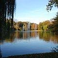 dawny park łabędziowy obecnie imienia miasta Roth #miasto #Racibórz #kościół