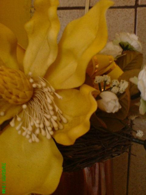#kwiaty #żółć #SztuczneKwiaty