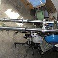 Zawieszenie WSK 175 z Gilera KK 125 #Dudek #kobuz #Motocykl #Motor #Perkoz #PRL #WSK175