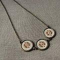 biżuteria z motywem haftu ukraińskiego. #rękodzieło #biżuteria #haft #wisior