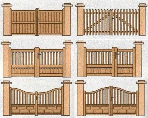 Zakład stolarski Stanpor - wzory bram