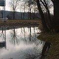 wiosenne roztopy #wiosna #roztopy #woda #OdbiciaWWodzie
