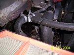 Mercedes W202 (C klasa) silnik 2.2 benzyna Wyciek oleju.