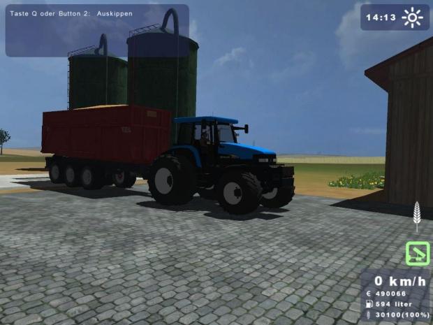 Żniwa w Landwirtschafts Simulator 2009 #Żniwa #lLS09 #LandwirtschaftsSimulator2009 #Landwirtschafts #Simulator #NewHolland #CX860 #TM190